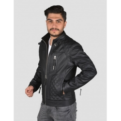 Garbi Mens Black Quilted Jacket