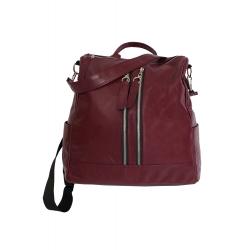 Amber Women's leather backpack, shoulder - handbag