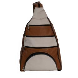 Charleen Women's leather backpack and shoulder bag