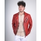 Echo Red Leather jacket
